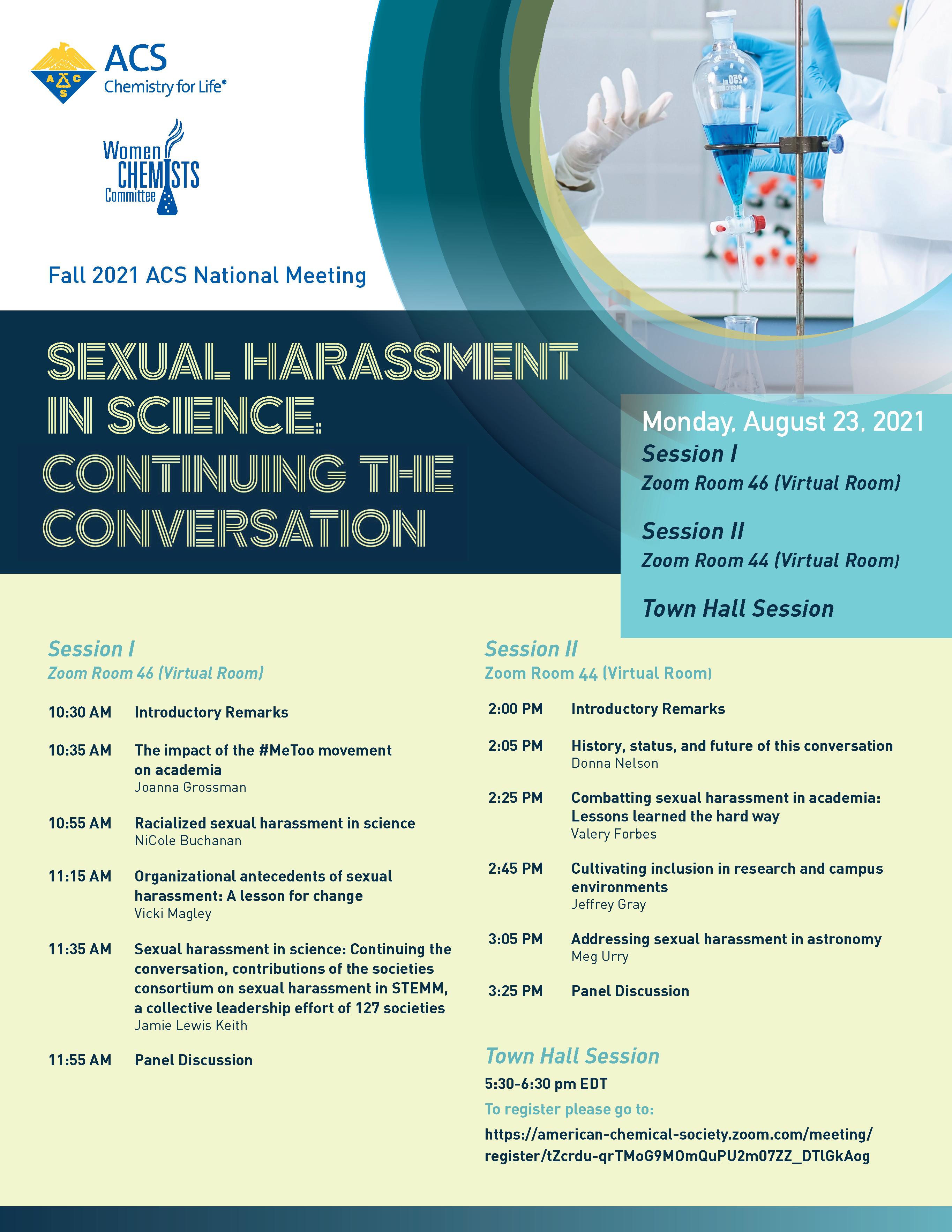 Sexual Harassment -Conversation 2021 Flyer
